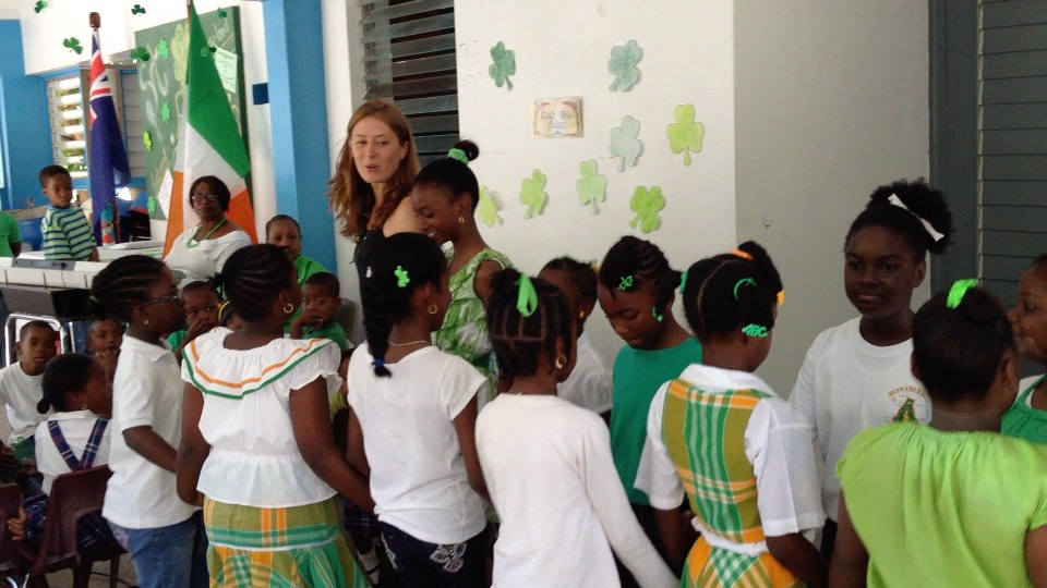 Irish dance students at St. Augustine Primary School perform during St. Patrick's Week in 2014 Photo credit: Kate Spanos